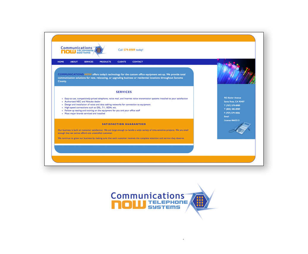 Communications NOW website
